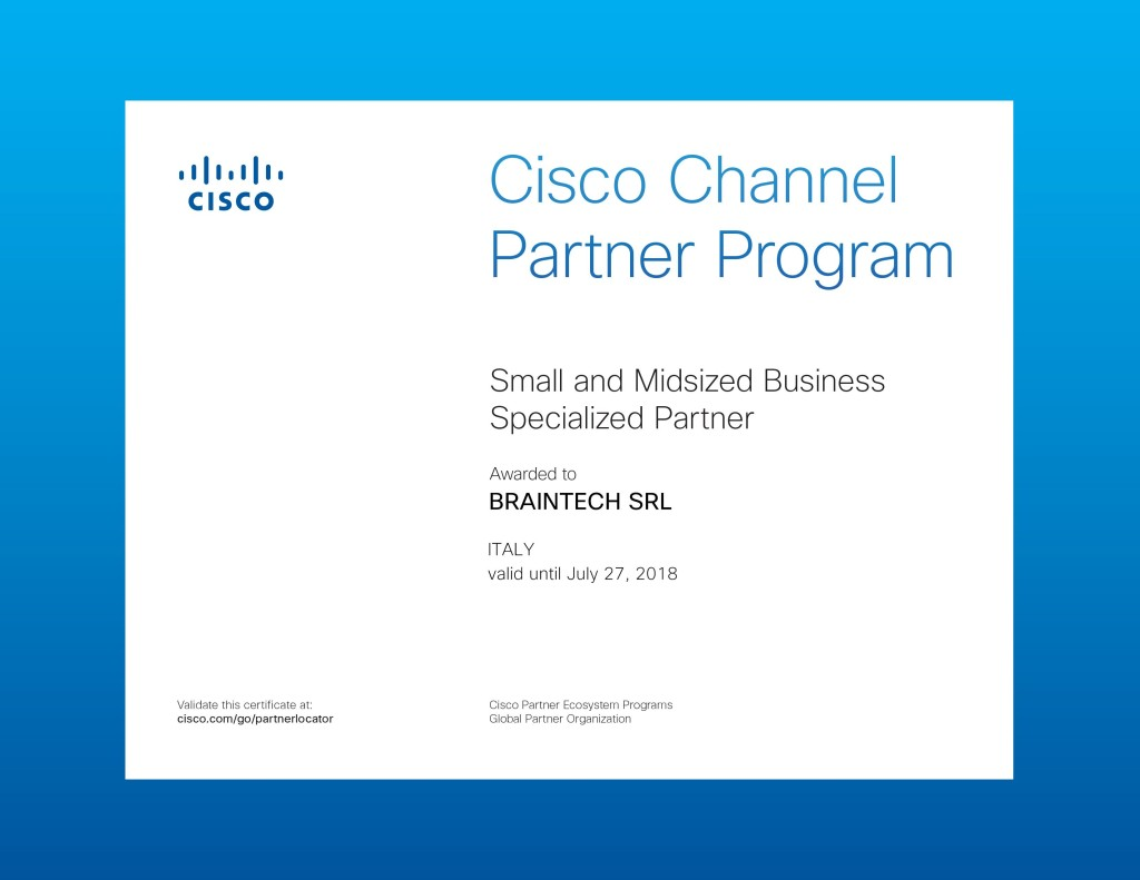 Cisco-Channel Partner - Braintech 01